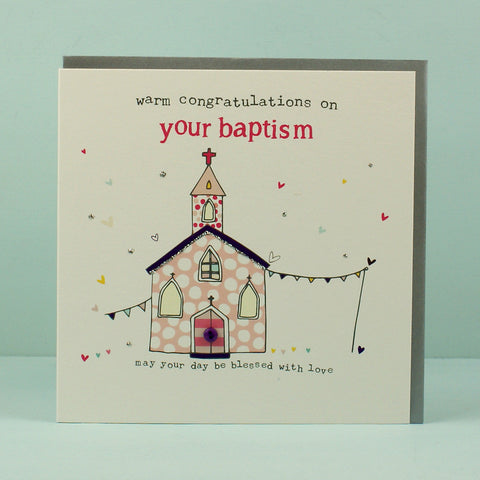 Congratulations On Your Baptism - Girl