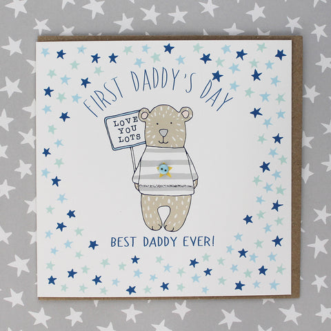 First Daddy's day - Bear (DT28)