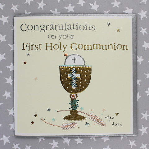 Congratulations On Your First Holy Communion (FB122)