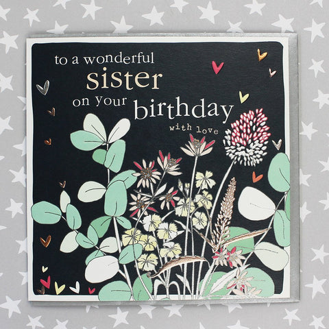 Wonderful Sister On Your Birthday (FB145)