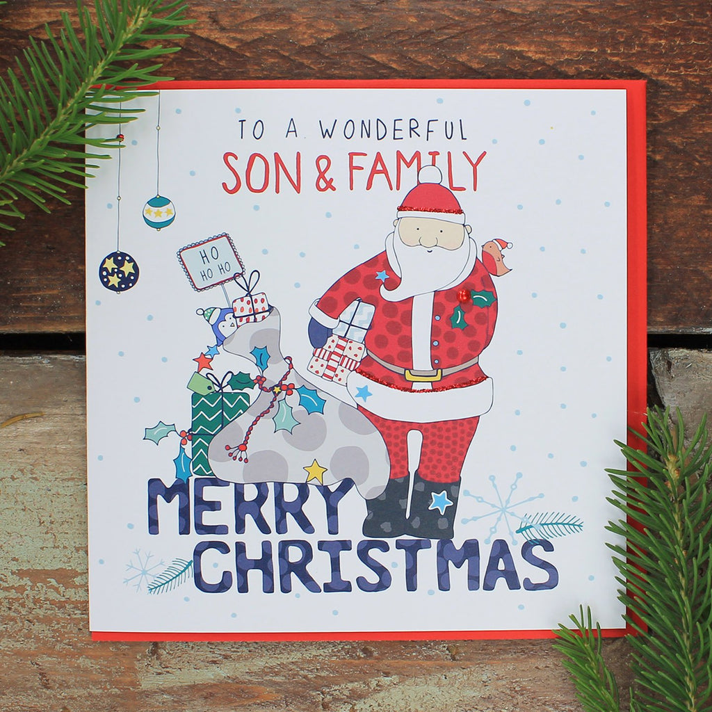 Son and family - Happy Christmas (FH06)