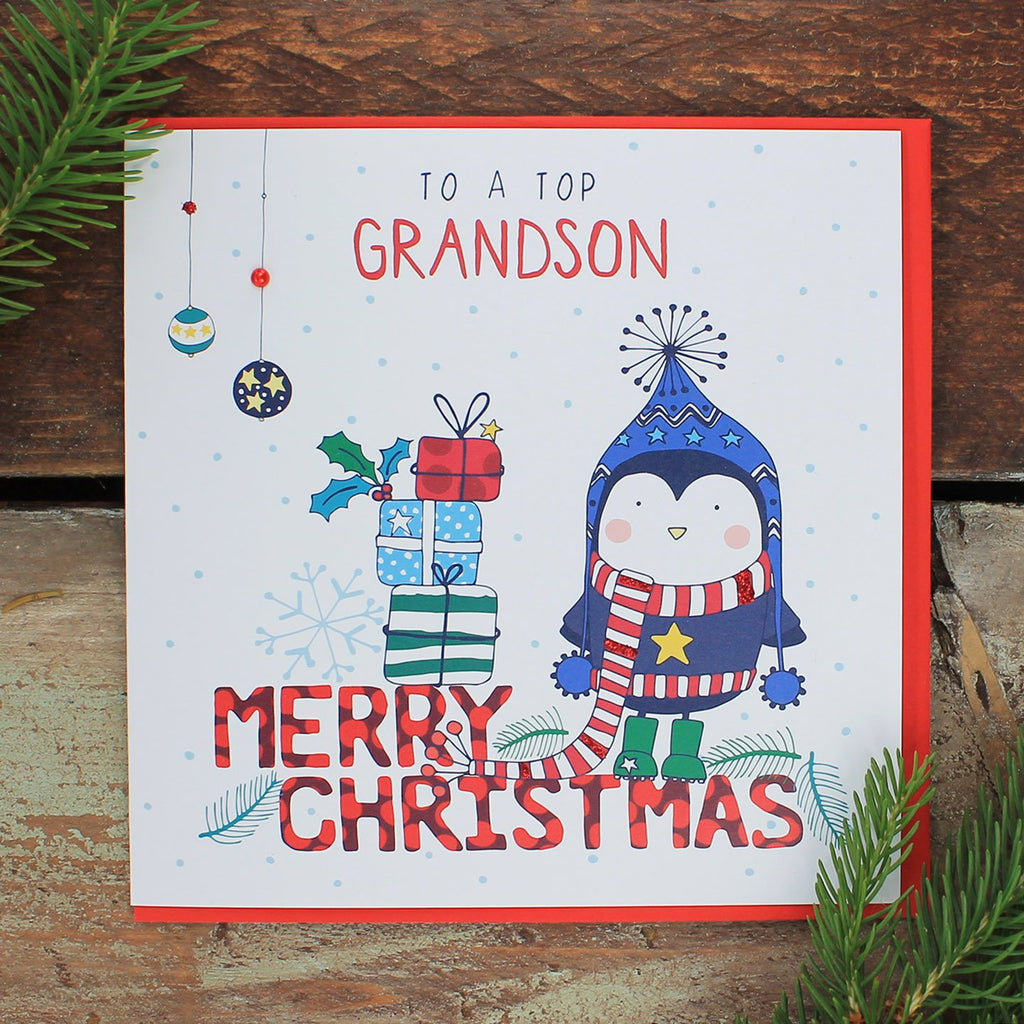 Grandson - Happy Christmas (FH08)