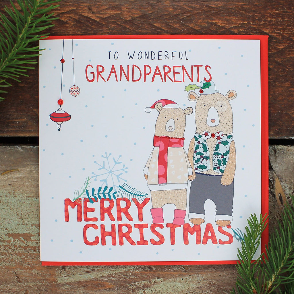 Grandparents - Happy Christmas (FH11)