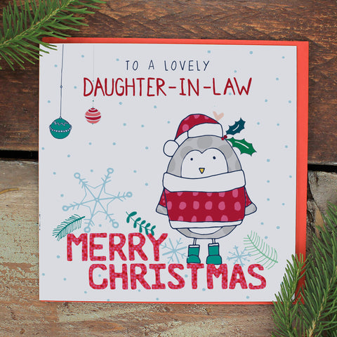 Daughter-in-law - Happy Christmas (FH77)