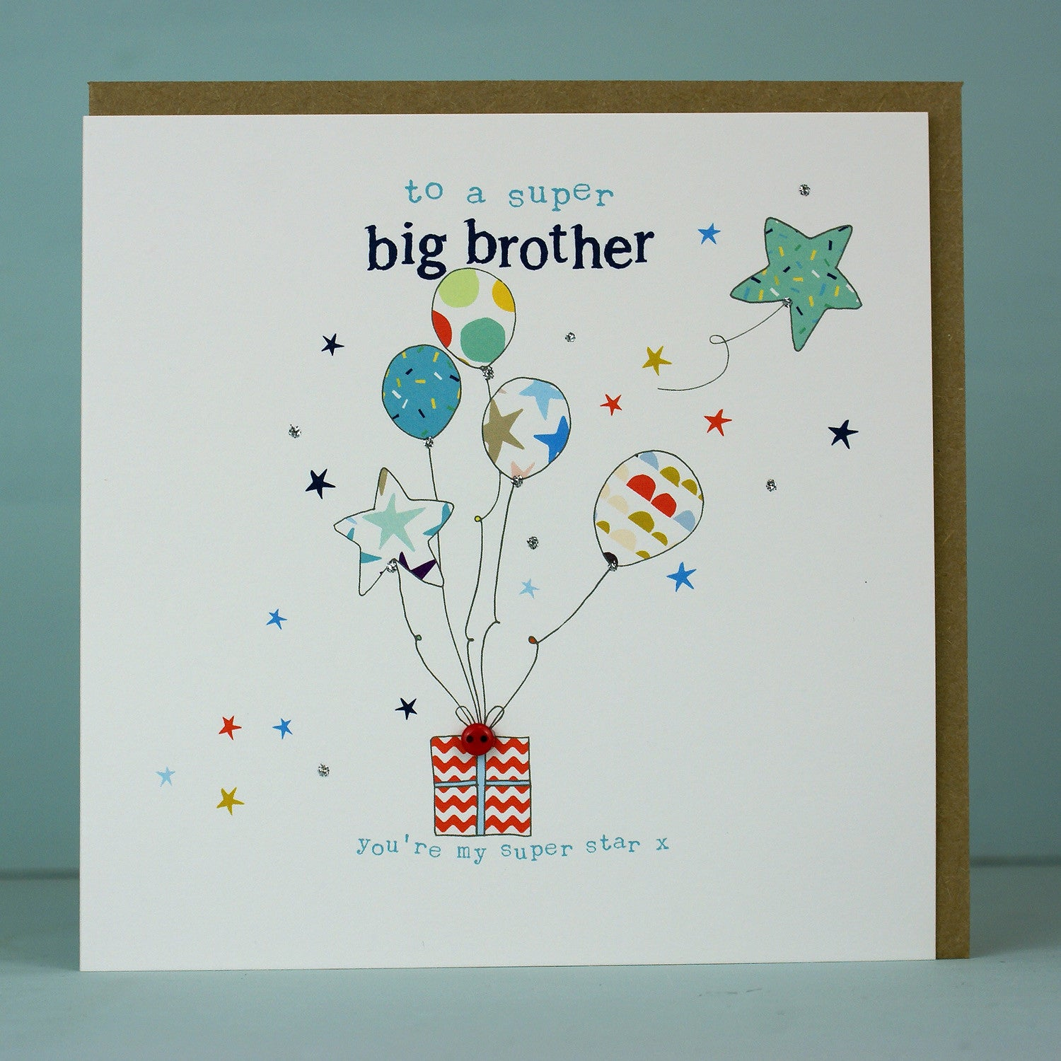 Happy Birthday Big Brother Birthday Card