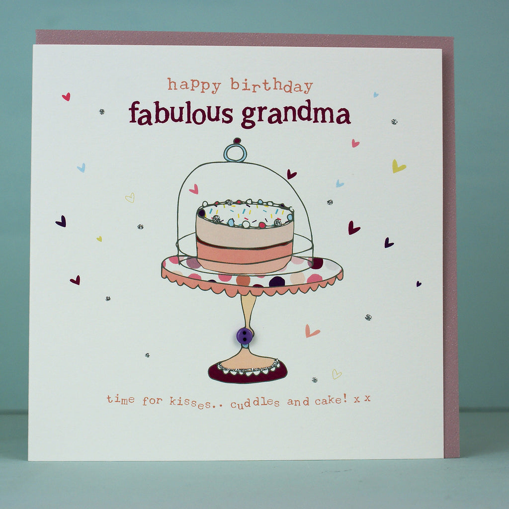 Happy Birthday fabulous grandma