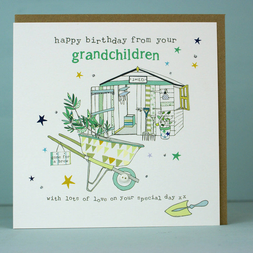 Happy Birthday from your grandchildren - male