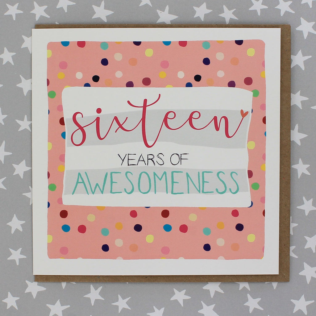 Sixteen years of awesomeness (Spots) (IR116)