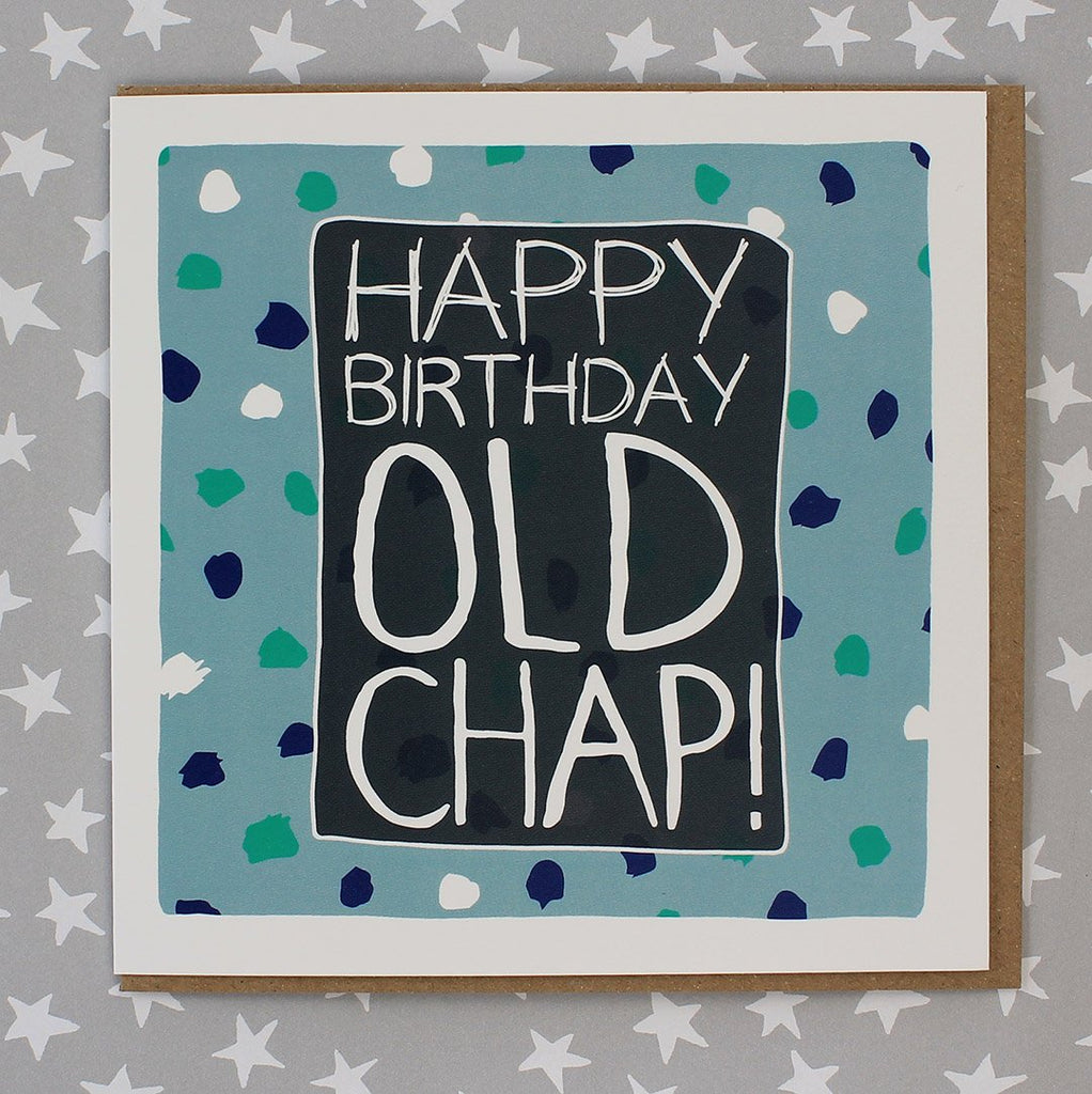 Male Birthday - Old Chap (IR11)
