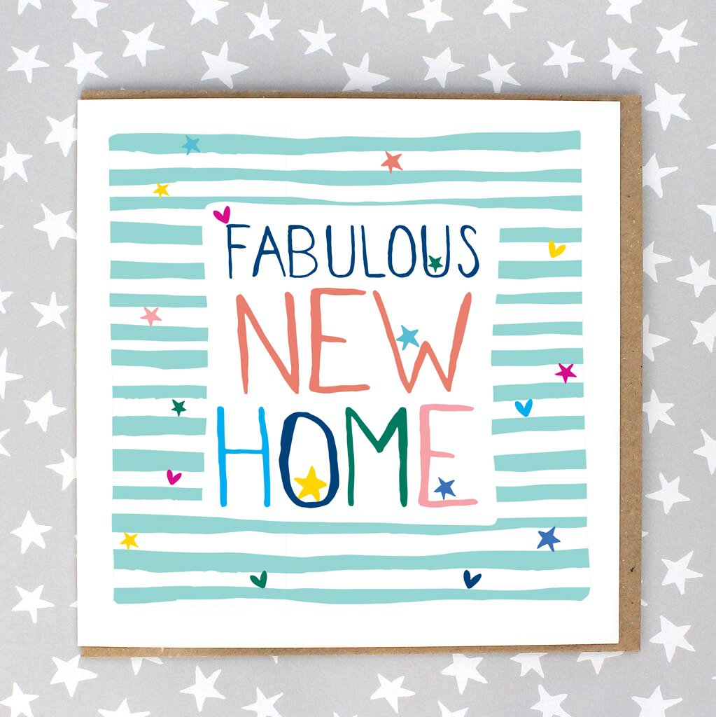Fabulous New Home Card (IR190)
