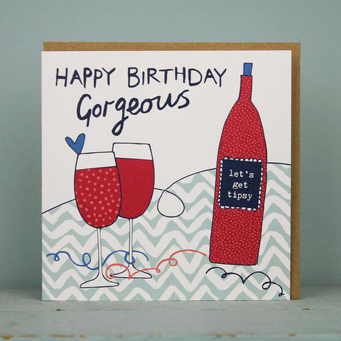 Happy Birthday Gorgeous - Wine