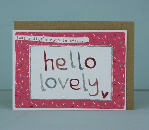 Mini Card - Hello Lovely