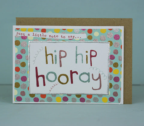 Mini Card - Hip Hip Hooray - Girl