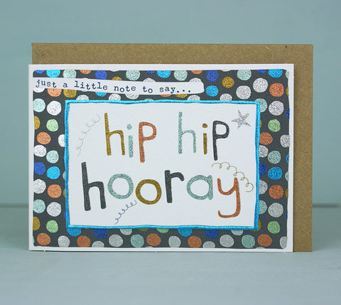 Mini Card - Hip Hip Hooray - Boy