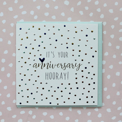 It's Your Anniversary - Hooray!