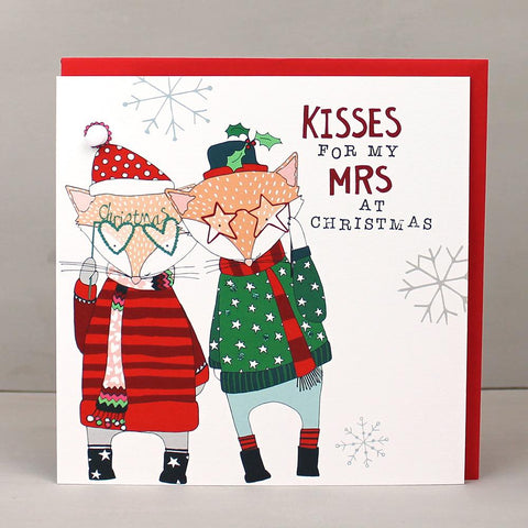 Happy Christmas Kisses for my Mrs