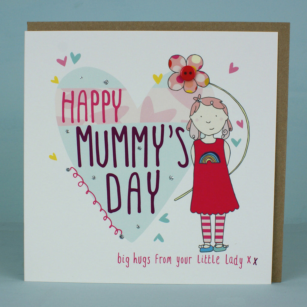 Happy Mummy's Day - From Your Little Lady