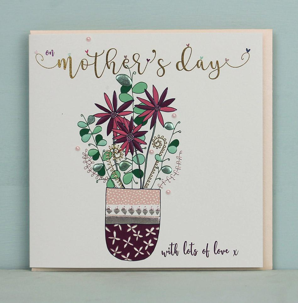 Mother\u0027s Day - Flower pot  sc 1 st  Molly Mae & Greeting Card | Mother\u0027s Day - Flower pot | Molly Mae
