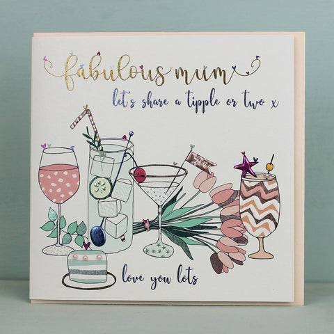 Fabulous mum - Let's share a tipple or two