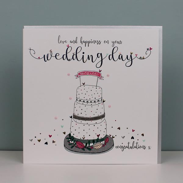Large Wedding Day Card