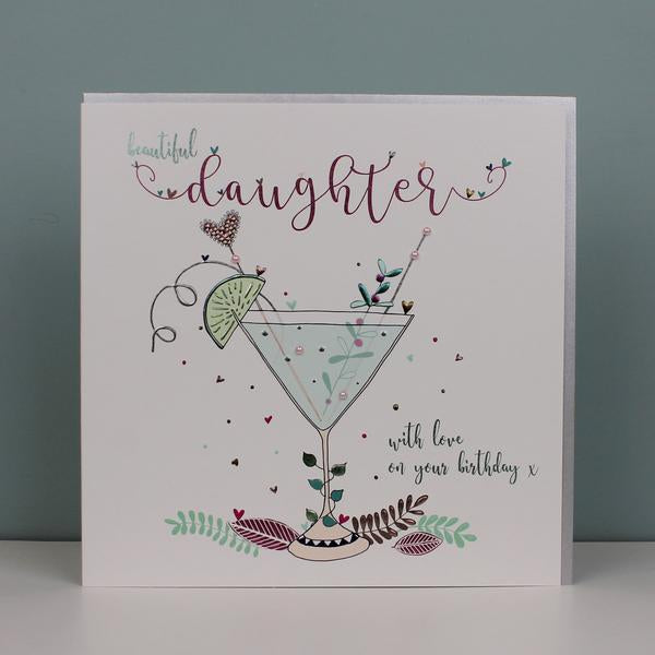 Large, Luxury Daughter Birthday Card