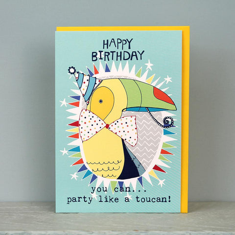 Birthday - Toucan