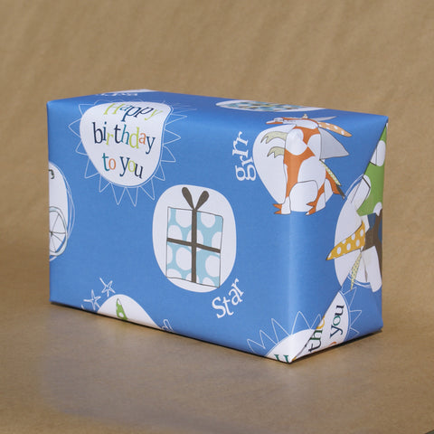 Boy Gift Wrap (2 sheets)
