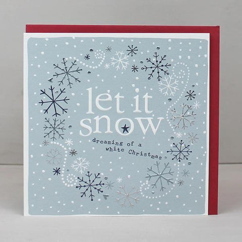4 pack - Let it snow (XBP06)
