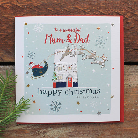 Mum & Dad - Happy Christmas (YC01)