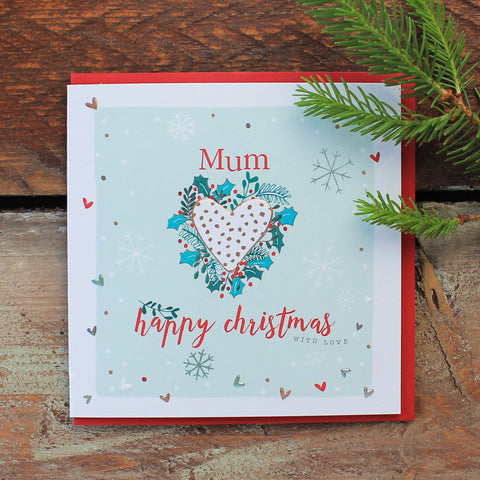 Mum - Happy Christmas  (TCC03)