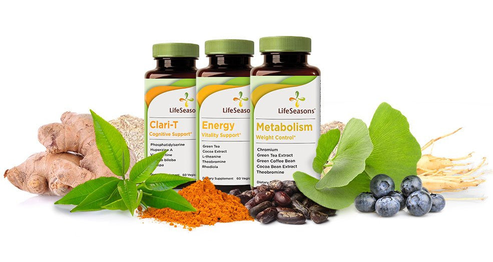 Herbal supplements with natural ingredients.