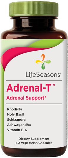 Buy Adrenal-T online. Adrenal supplement containing Rhodiola, Holy Basil, Schizandra, Ashwagandha, Vitamin B-6 to help support the body's adrenal glands. 90 Capsules.