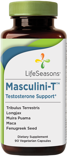 Masculini-T Supplement. A low-t support . 90 Vegicaps in one bottle.