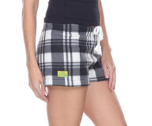 Load image into Gallery viewer, Ladies Duke Fleece Shorts - Arctic Plaid