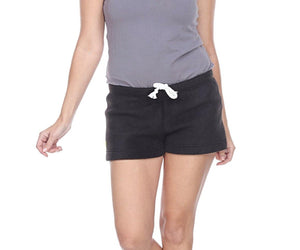 Ladies Duke Fleece Shorts - Black