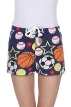 Load image into Gallery viewer, Ladies Duke Fleece Shorts - All Stars