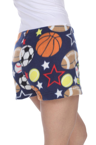 Ladies Duke Fleece Shorts - All Stars