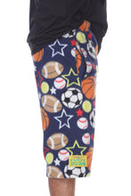 Load image into Gallery viewer, Mens Fleece Shorts - All Stars
