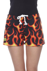 Ladies Duke Fleece Shorts - Flare