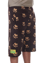 Load image into Gallery viewer, Mens Fleece Shorts - Brown Bears