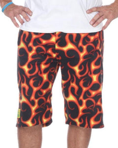 Mens Fleece Shorts - Flare