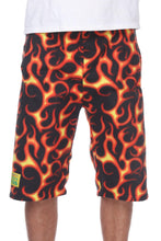 Load image into Gallery viewer, Mens Fleece Shorts - Flare