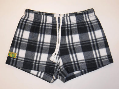 Ladies Duke Fleece Shorts - Arctic Plaid