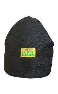 Get your ears warm with a fleece cap from Fuzzy Duds.