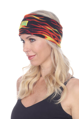 Hot Rod Fuzzy Fleece Headband