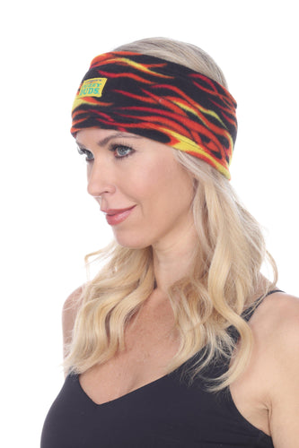 Fleece Headband - Hot Rod