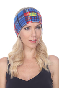 Lewis Fuzzy Fleece Headband