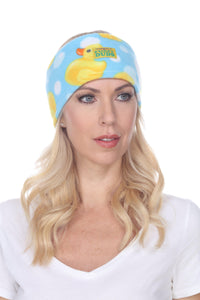 Fleece Headband - Bubble Ducks
