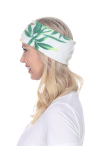Fleece Headband - Panda Cain