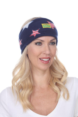 Freedom Fuzzy Fleece Headband